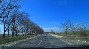 Обзор новой дороги Черноморское — Оленевка