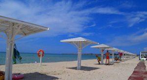 Обзор пляжа «Майами» Оленевка