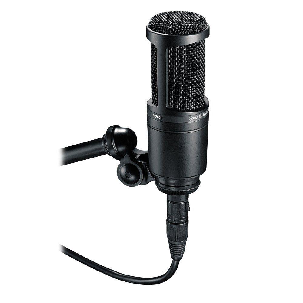 Обзор студийного микрофона AT2020 производителя Audio-Technica