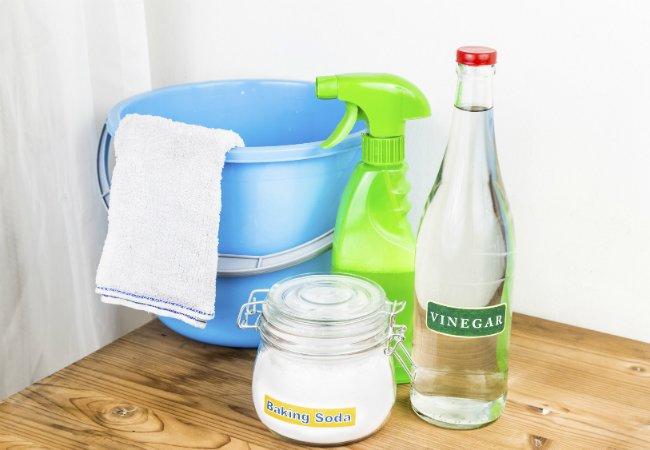 Бытовая химия для уборки и стирки